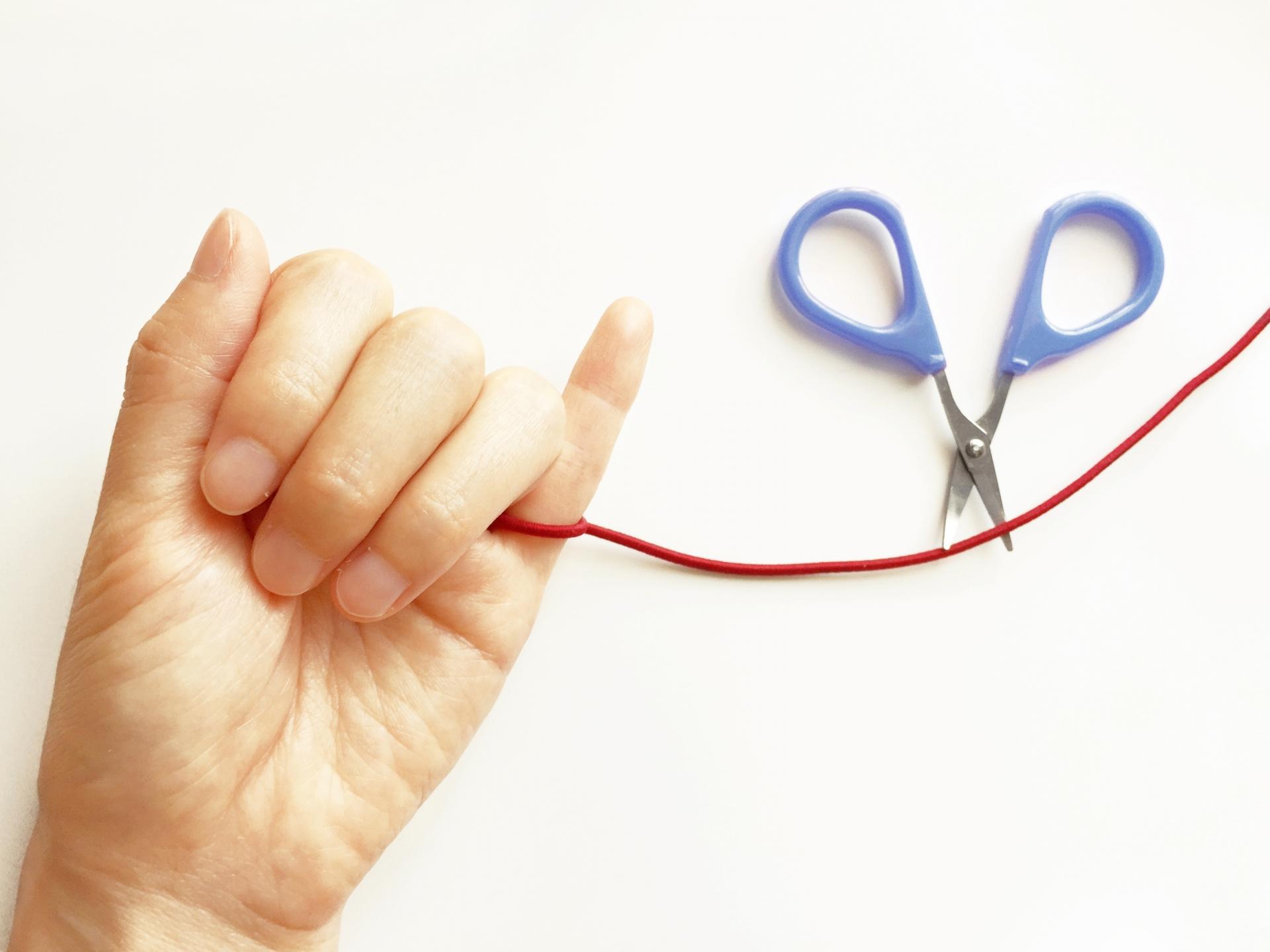 指の赤い糸