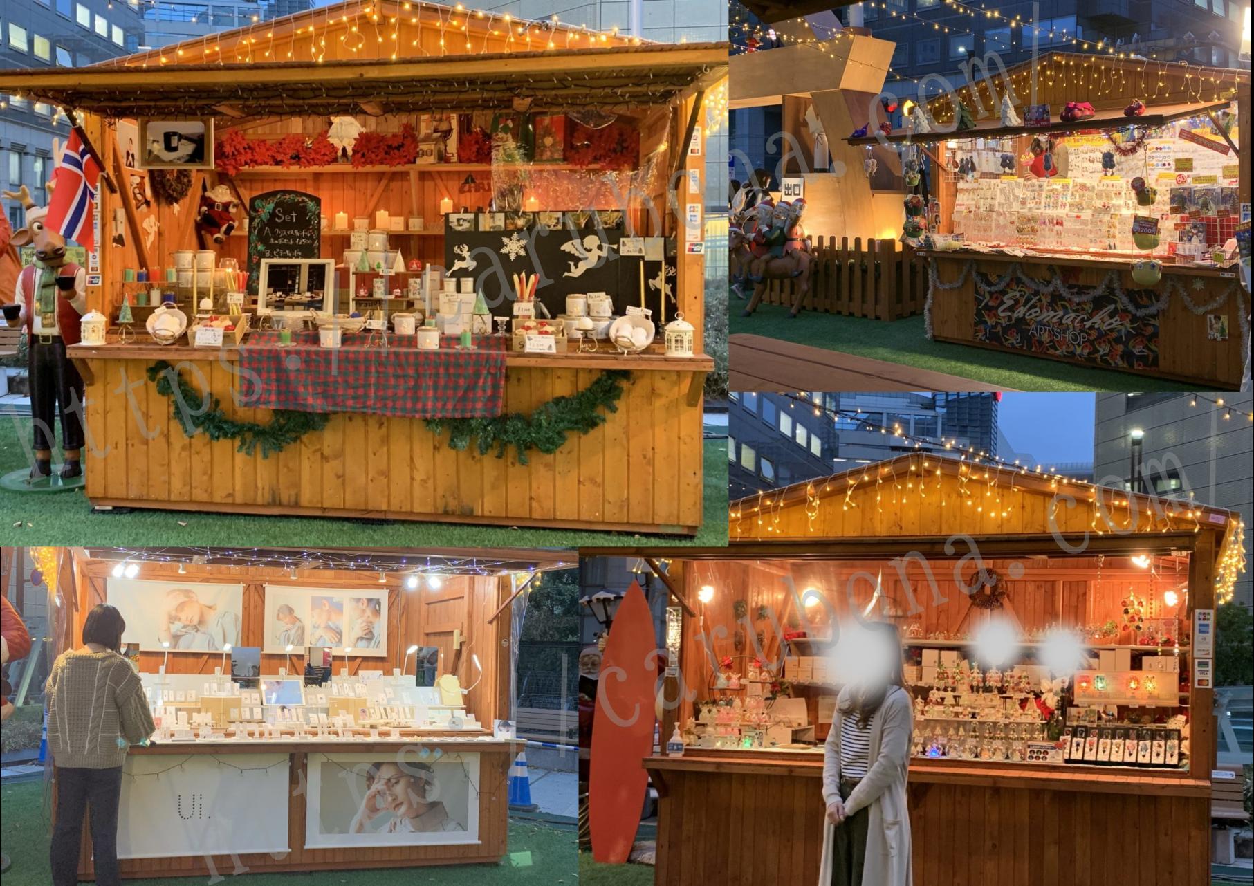 天神のクリスマスマーケット3